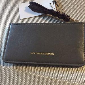 🆕 Listing! Alexander McQueen Zipped Card Holder